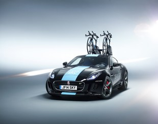 Jaguar F-Type R Coupe w Tour de France