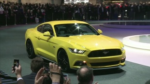 Ford Mustang w Genewie [video]