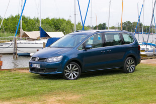 Volkswagen Sharan po liftingu. Test i dane techniczne [video]