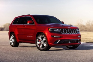 Lifting Jeep'a Grand Cherokee SRT8