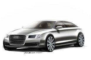 Audi A8 po faceliftingu