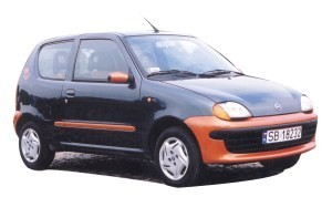 Fiat Seicento 900 Brush