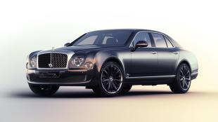 Nowy Bentley Mulsanne Speed Blue Train