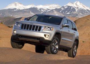 Lifting Jeep'a Grand Cherokee w 2013 roku