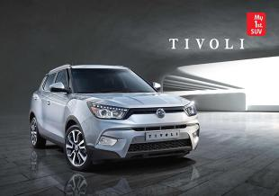 Tivoli. Nowy crossover marki SsangYong