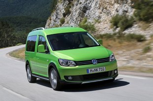VW Caddy Cross do produkcji